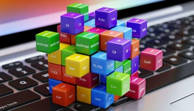 Dice on keyboard
