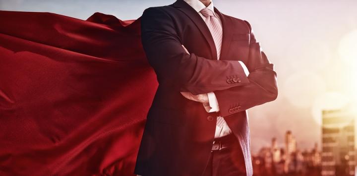 marketing superhero